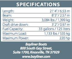 bayliner642specs