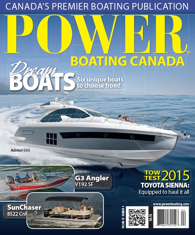 Power Boating Canada Volume 30 Issues 4