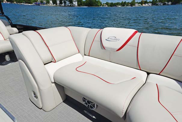 The Extreme's premium upholstery reminds you of a fine piece of furniture at home.