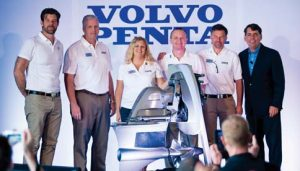 Unveiling the all new Forward Drive at the Miami International Boat Show in February 2015.