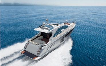 The Azimut 55S Yacht in Action