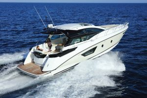 The Beneteau Gran Turismo 46 effortlessly cuts through the waves
