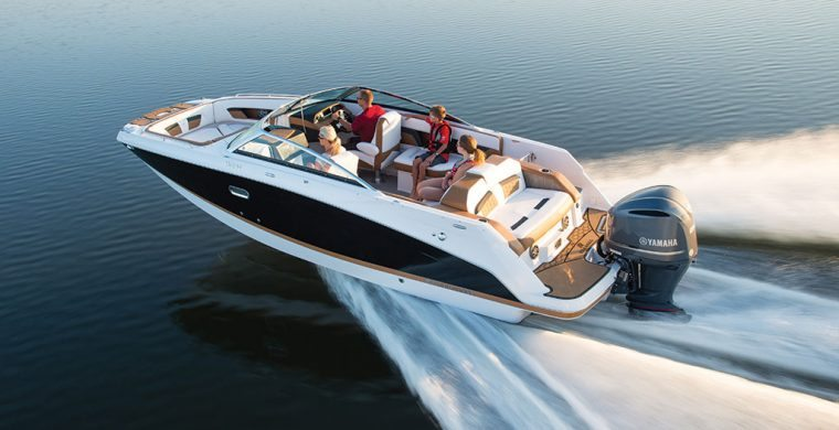 Four Winns 240HD Outboards in action