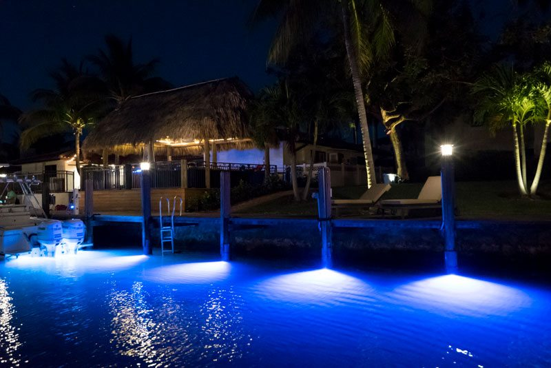 Underwater Lighting Options for Your Dock Just Got Brighter & Options for Underwater Dock Lights Just Got Brighter.