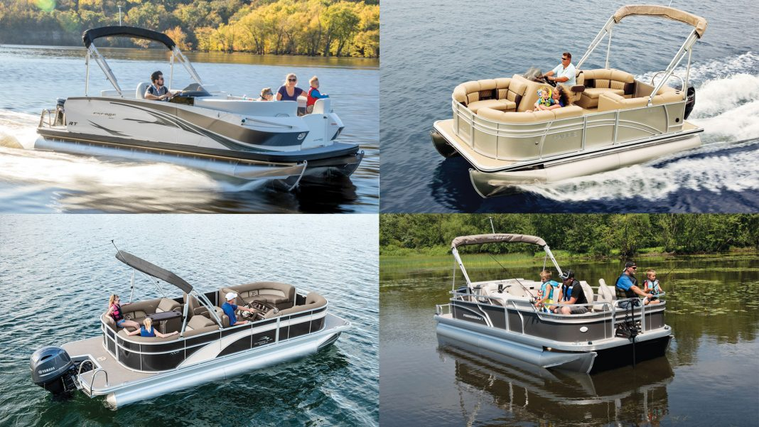 15 Top Pontoon & Deck Boats for 2018 | PowerBoating com