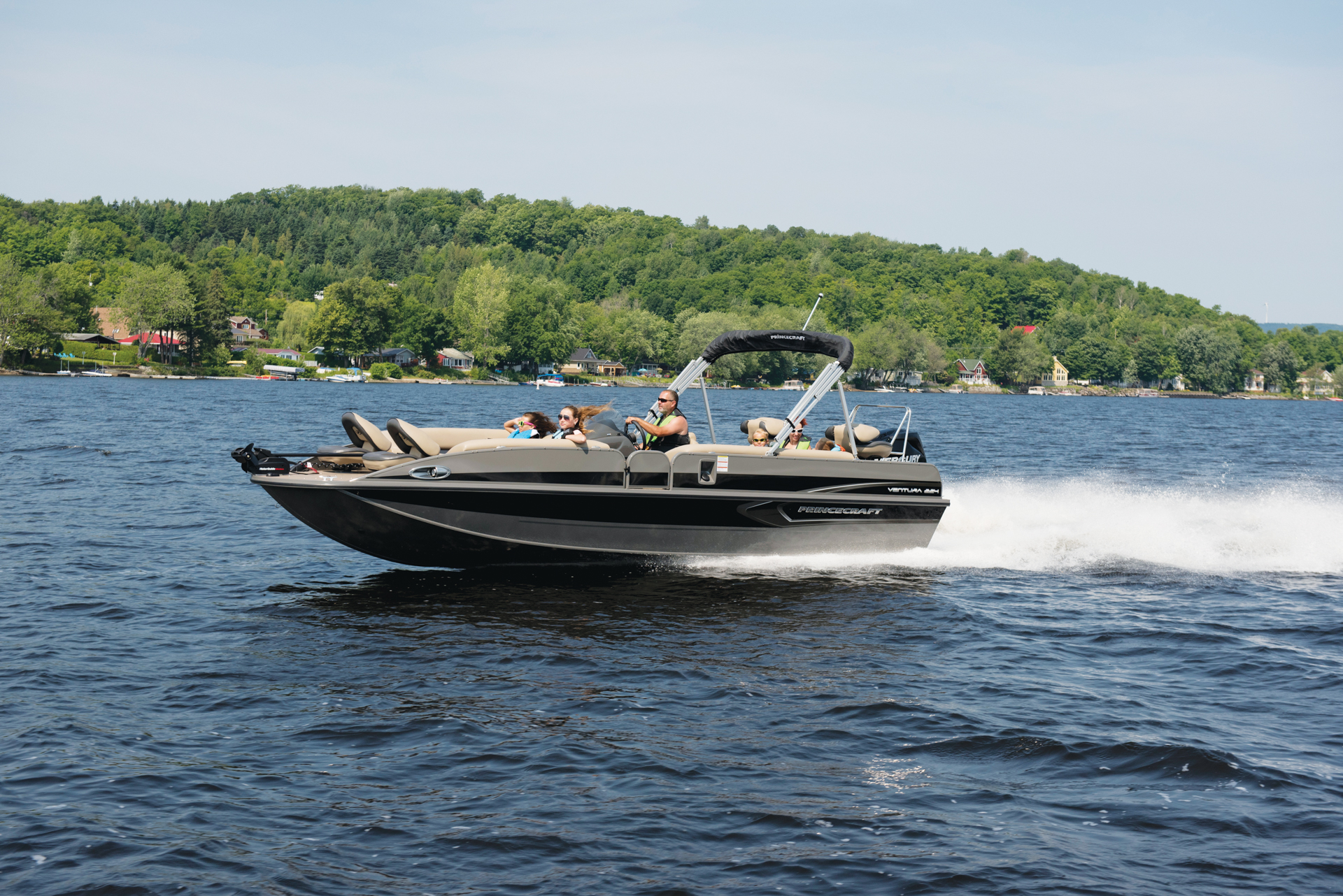 15 Top Pontoon Deck Boats For 2018 Powerboating Com