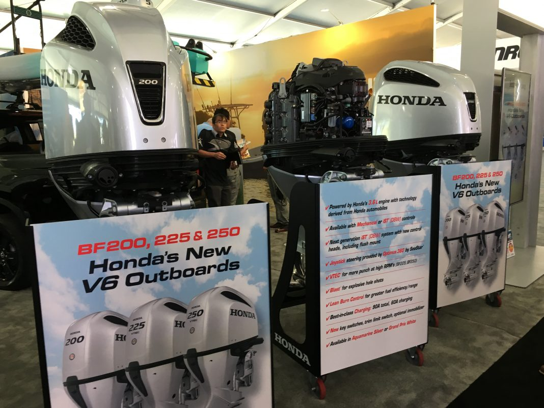 Honda Unveils Redesigned V6 200, 225 and 250hp Outboards