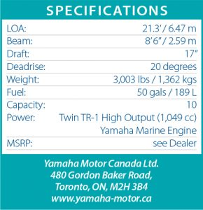 Yamaha 210 FSH | PowerBoating com
