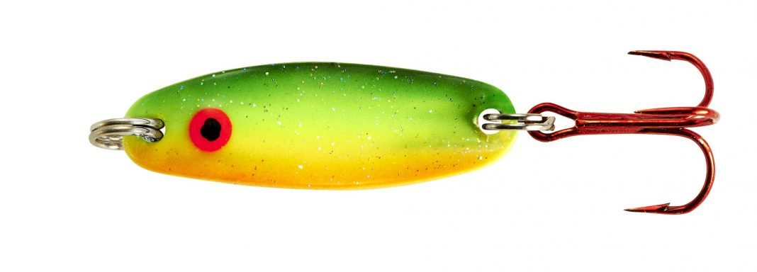 Ice fishing: Quiver Spoon