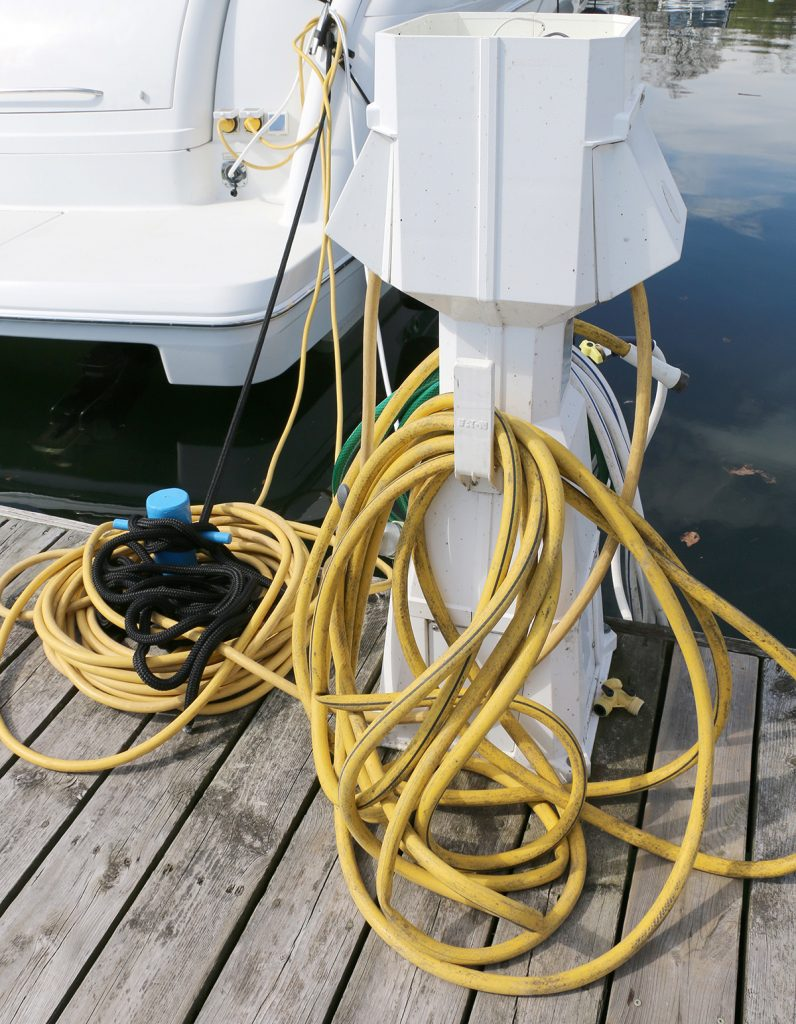Boat Wiring Support