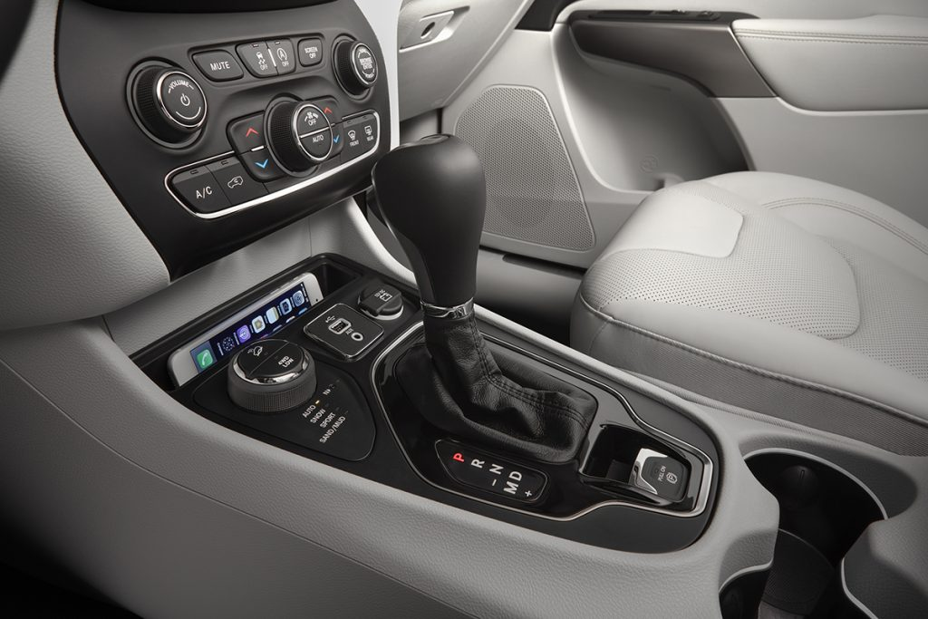 Interior features are easy to reach