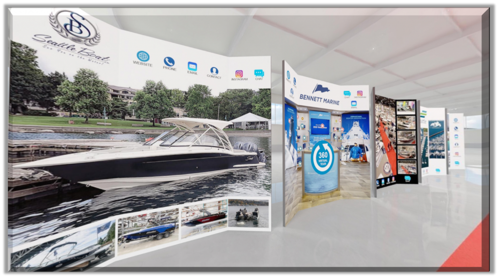Seattle Boat Show 3D Booth